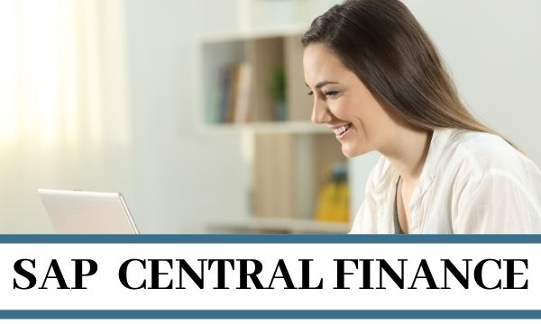 s4hana central finances4hana central finance